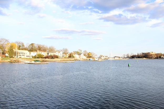 Partial View of Mamaroneck Harbor
