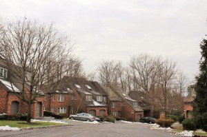 Townhouses complex in Ardsley