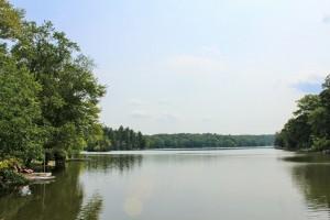 View of Truesdale Lake
